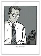Ex-libris Sérigraphie TED BENOIT Blake Mortimer Honeychurch 17,5x24