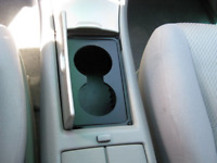 Console Cup Holder Insert Dual Custom Made Toyota HIGHLANDER 02-07 FREE SHIPPING