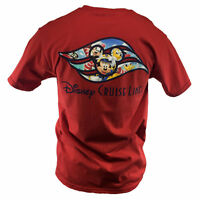 DISNEY CRUISE LINE Mens T Shirt MICKEY MOUSE & FRIENDS GOOFY DONALD DUCK TEE NEW