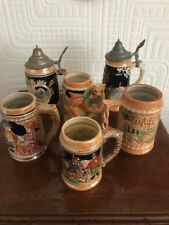 Collection Of German Style Steins