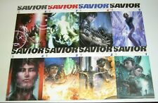 Savior #1-8 VF/NM complete series - mcfarlane/clayton crain - God as super hero