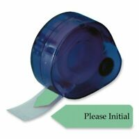 """Redi-tag Please Initial Removable Tags - Removable, Self-adhesive - 1.88"""" X"""