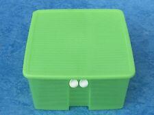 Tupperware Tupper Prima Klima PrimaKlima  viereckig grün Frischebehälter 4,2 l