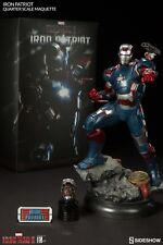 BRAND NEW SIDESHOW COLLECTIBLES IRON PATRIOT 1/4 SCALE MAQUETTE STATUE