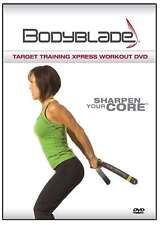 BODYBLADE ® Target Training Xpress WORKOUT DVD NEW