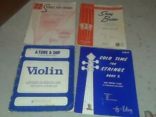 A Tune a Day: A Second Book for Violin Instruction in Group, Public School Class