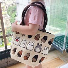 Japan Anime Studio Ghibli My Neighbor Totoro Plush Tote Handbag