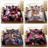 3D Anime Girl Bedding Set Animation Quilt/Comforter/Duvet Cover Pillowcase