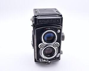 Rollei Rolleiflex TLR Film Camera Schneider-Kreuznach Xenar f/3.5 75mm (#8574)