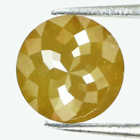 L x B X H oval Shape Rose cut 0.80 TCW 8.4 x 5.9 x 1.6 MM Grayish Green color African Antique Slice Loose Natural Diamond for Ring  Jewel
