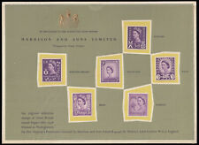 SGS1 1958 Regionals, 3d. Violet x6; Scotland , N. Ireland, Isle of Man, Wales...