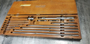 "Starrett 124C 124-C 2-32""  Inside Micrometer w/Etchings. Not Sure Complete lot#B"