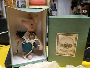 Piglet Winnie The Pooh R. John Wright Doll Pv 1988/2500