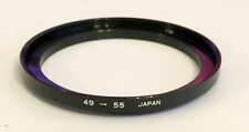 49mm to 55mm Step up ring