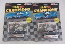 Set of 2 Racing Champions Ramo Stott #7 Plymouth W/ Stand and Card 1/64 Die Cast