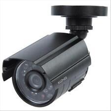 TELECAMERA KONIG SEC-CAM25 A COLORI CCTV. Dotata di staffa e LED IR per la visio