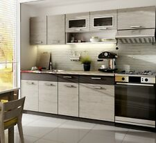 Küche 240cm Schränke, Küchenzeile Erweiterbar Picard   Lava Neuu0026Schnell