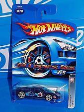 Hot Wheels 2006 Spy Force Series #078 2001 B Engineering Edonis Dark Blue