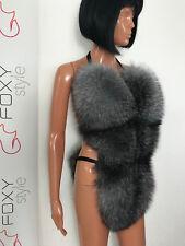 Blue frost fox fur bikini body.Double side fur.