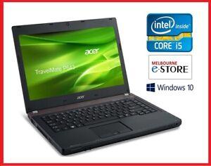 "Refurbished Acer P643 14"" Core i5 3230M 4GB 8GB RAM 500GB 10 Pro Used Laptop PC"