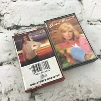 Vintage Cassette Tapes Lot Of 2 Country Music Charly McLain Barbara Mandrell