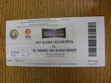 20/04/2011 Ticket: ACF Gloria 1922 Bistrita v SC Dinamo 1948 SA Bucuresti (folde