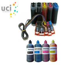 LOT CISS refillable ink cartridge replace for Canon MG5250 MP640 IP4200 ip4700