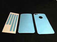 LIGHT BLUE COLOR Sparkling Protector Skin Sticker for Apple iPhone 5 5S SE