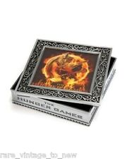 "NEW NECA The Hunger Games Movie Jewelry Box Metal ""Rust Mockingjay"" Container"