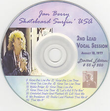 Jan And Dean- Skateboard Surfin' USA- Rare Jan Promo CD- Limited Ed, Numbered
