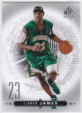 LeBron James IRISH HIGH SCHOOL JERSEY #23 Basketball Card UD SP AUTHENTIC LE!