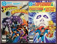 DC comics presents #89 and #90 (DC 1986) FN- Condition.