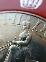 1977 H.M. Queen Elizabeth II Silver Jubilee Crown Commemorative Coin in Case