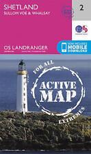Shetland - Sullom Voe & Whalsay by Ordnance Survey (Sheet map, folded, 2016)