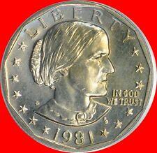 1981 D Susan B Anthony Dollar Choice/Gem Bu from mint sets