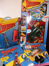 5 4 3 2 1 ULITMATE SPECIAL EDITION SET OF 9 THUNDERBIRD TRACY ISLAND TOYS SEALED