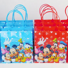 Mickey Minnie Birthday Party Favors Goody Gift Candy Bags Loot Bolsas Regalos