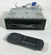 Kenwood Kdc-316V Car Stereo Cd Player In Dash Cd-Md Changer w/ Remote Control