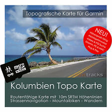 Kolumbien Garmin Topo GPS Karte 4GB microSD Garmin Navi, PC & MAC