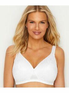 Playtex Women's Cross Your Heart 4210 Bra Size 36B White Wire Free (N14)