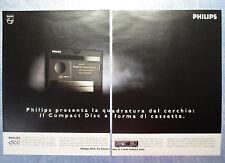 CIAK993-PUBBLICITA'/ADVERTISING-1993- PHILIPS DCC (2 fogli)