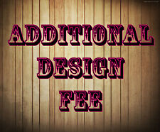 Additional Design Fee - Add on for Ticket Listings