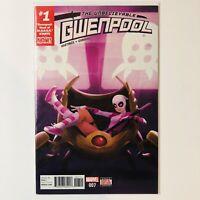 The Unbelievable Gwenpool 7 VF 007 Marvel Comic Hastings Head Of Modok #1