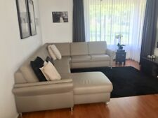 Leather couch / Hoekbank leer