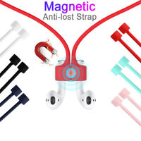 Earphone Anti-lost Strap String For Apple AirPod Magnetic Loop String Cable---