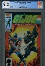 GI Joe ARAH 46 CGC 9.2 Marvel Comics New Holder Snake Eyes Storm Shadow Zeck