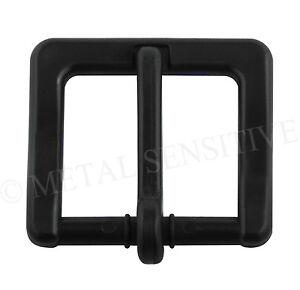 Plastic Belt Buckle Non-Metallic No Metal Nickel Free Allergy Airport 35MM 30MM