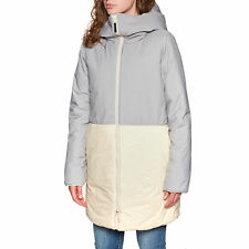 Roxy Freese Reversible Womens Jacket - Oyster Gray All Sizes