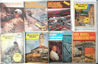 Vintage Lot of 8 Model Railroad Magazines 1970 - 1986