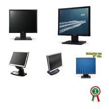 """MONITOR SCHERMO RICONDIZIONATO LCD TFT 17"""" PER PC COMPUTER DESKTOP CASA UFFICIO"""